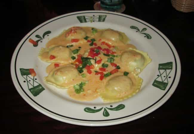 Stuffed Ravioli is listed (or ranked) 4 on the list Olive Garden Secret Menu Items