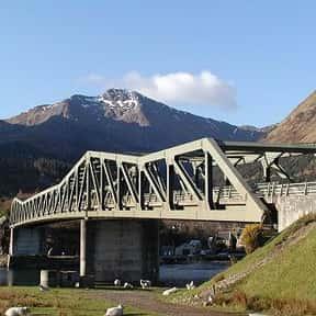 Ballachulish Bridge is listed (or ranked) 2 on the list Scottish Bridges