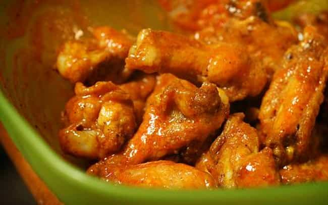 Spicy Garlic Wing Sauce ... is listed (or ranked) 2 on the list Buffalo Wild Wings Recipes