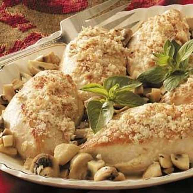 Romano Chicken is listed (or ranked) 4 on the list Cheesecake Factory Recipes