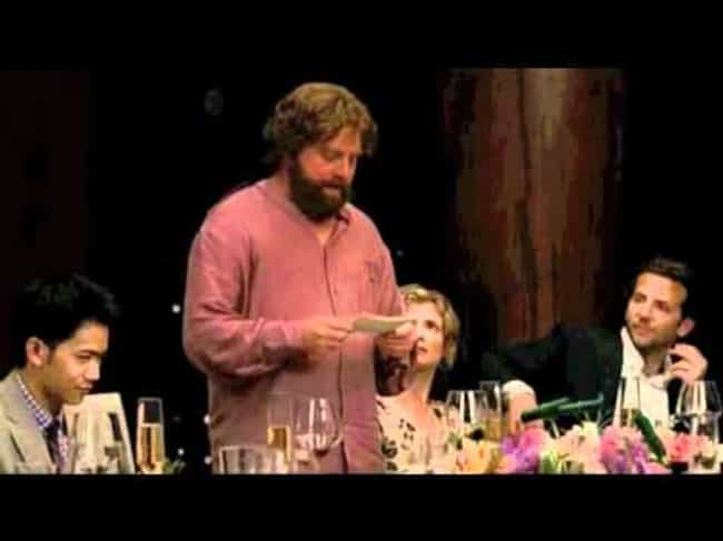 Alan's Wedding Toast is listed (or ranked) 1 on the list The Best Hangover 2 Quotes
