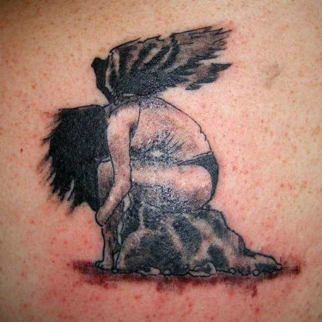 Fallen Angels is listed (or ranked) 4 on the list Angel Tattoo Designs
