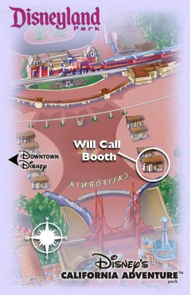 Will Call is listed (or ranked) 3 on the list The Most Helpful Disneyland Tips & Tricks