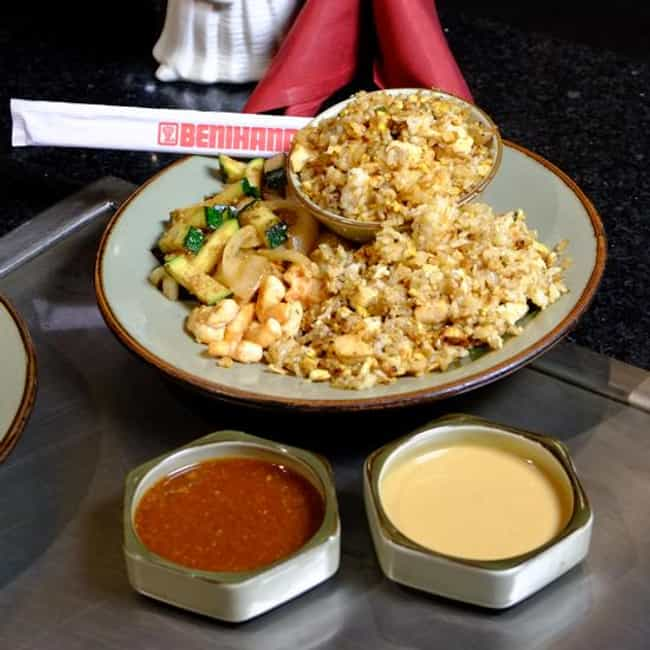 Benihana Fried Rice is listed (or ranked) 1 on the list DIY Benihana Recipes You Can Make at Home