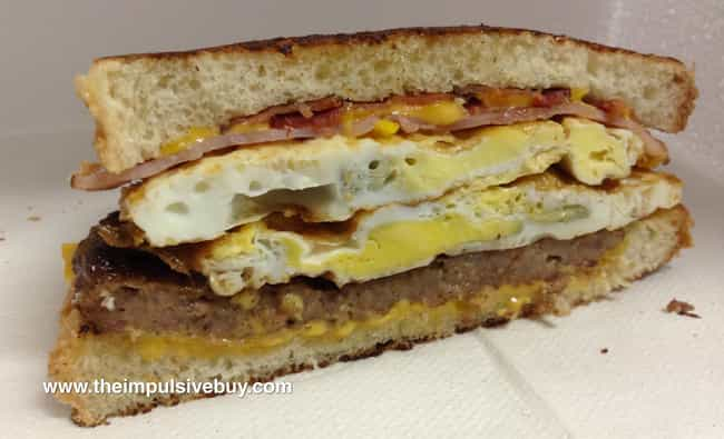Grilled Breakfast Sandwich, Lo... is listed (or ranked) 3 on the list Jack in the Box Secret Menu Items