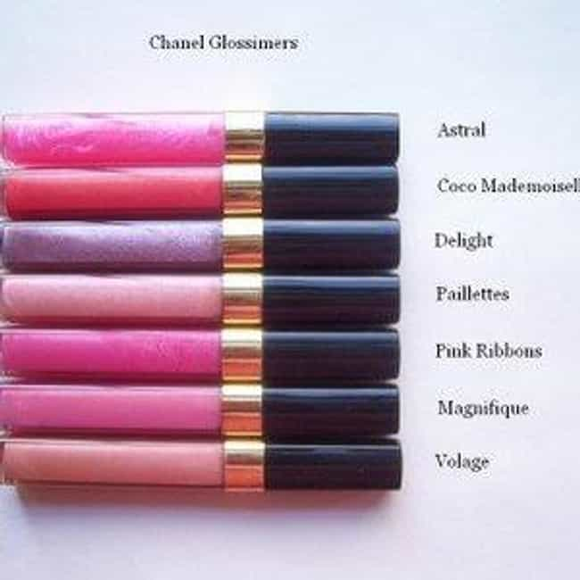 Chanel Glossimer is listed (or ranked) 3 on the list The Best Lip Gloss Brands