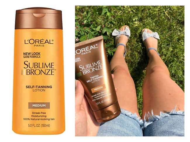 L'Oreal Sublime Bronze T... is listed (or ranked) 1 on the list The Best Bronzing Lotions