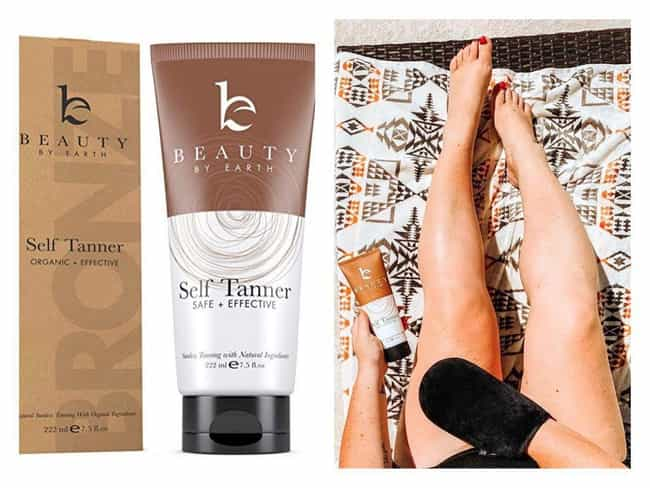 Beauty by Earth Self Tanner is listed (or ranked) 4 on the list The Best Bronzing Lotions