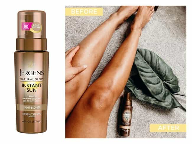 Jergens Natural Glow Ins... is listed (or ranked) 2 on the list The Best Bronzing Lotions