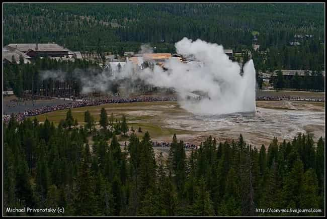 The Yellowstone Caldera ... is listed (or ranked) 1 on the list The World's 6 Known Supervolcanoes