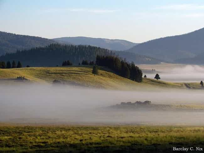 Valles Caldera is listed (or ranked) 3 on the list The World's 6 Known Supervolcanoes