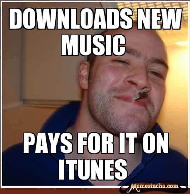 Good Guy Greg on Music is listed (or ranked) 4 on the list The Very Best of the Good Guy Greg Meme
