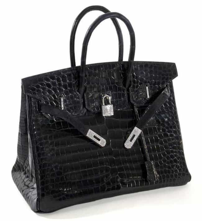 Hermes: Matte Crocodile ... is listed (or ranked) 3 on the list The Most Expensive Handbags