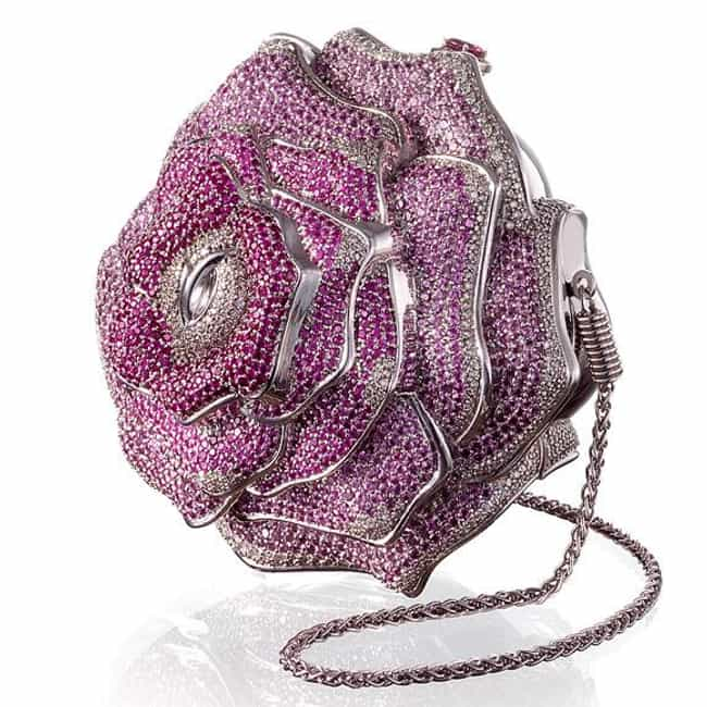 Leiber: Precious Rose is listed (or ranked) 7 on the list The Most Expensive Handbags