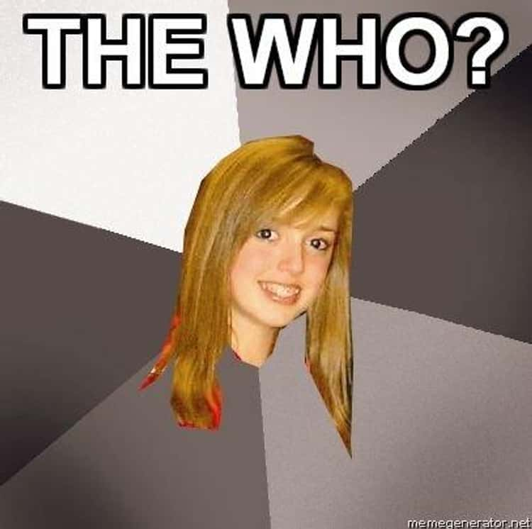 Musically Oblivious 8th Grader on The Who