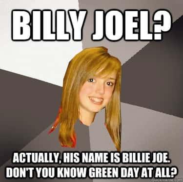Musically Oblivious 8th Grader on Billy Joel
