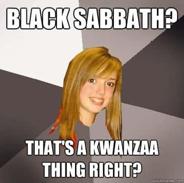 Musically Oblivious 8th Grader on Black Sabbath