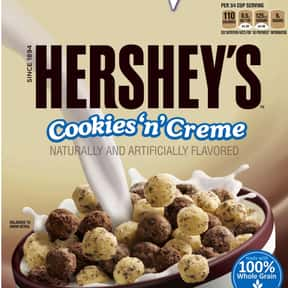 Hershey's Cookies 'n&# is listed (or ranked) 12 on the list The Best Chocolate Cereal