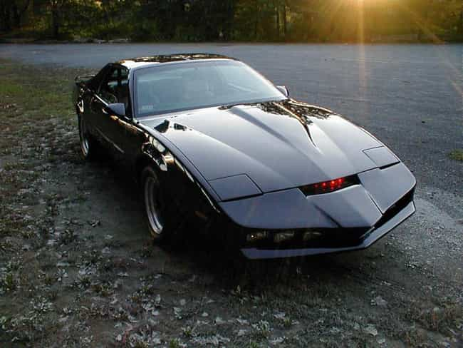 KITT is listed (or ranked) 2 on the list The Coolest Fictional Cars