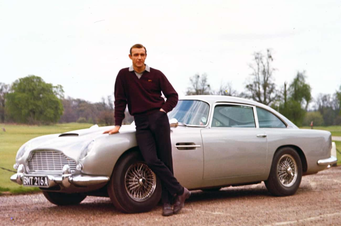James Bond's Aston Martin is listed (or ranked) 3 on the list The Coolest Fictional Cars