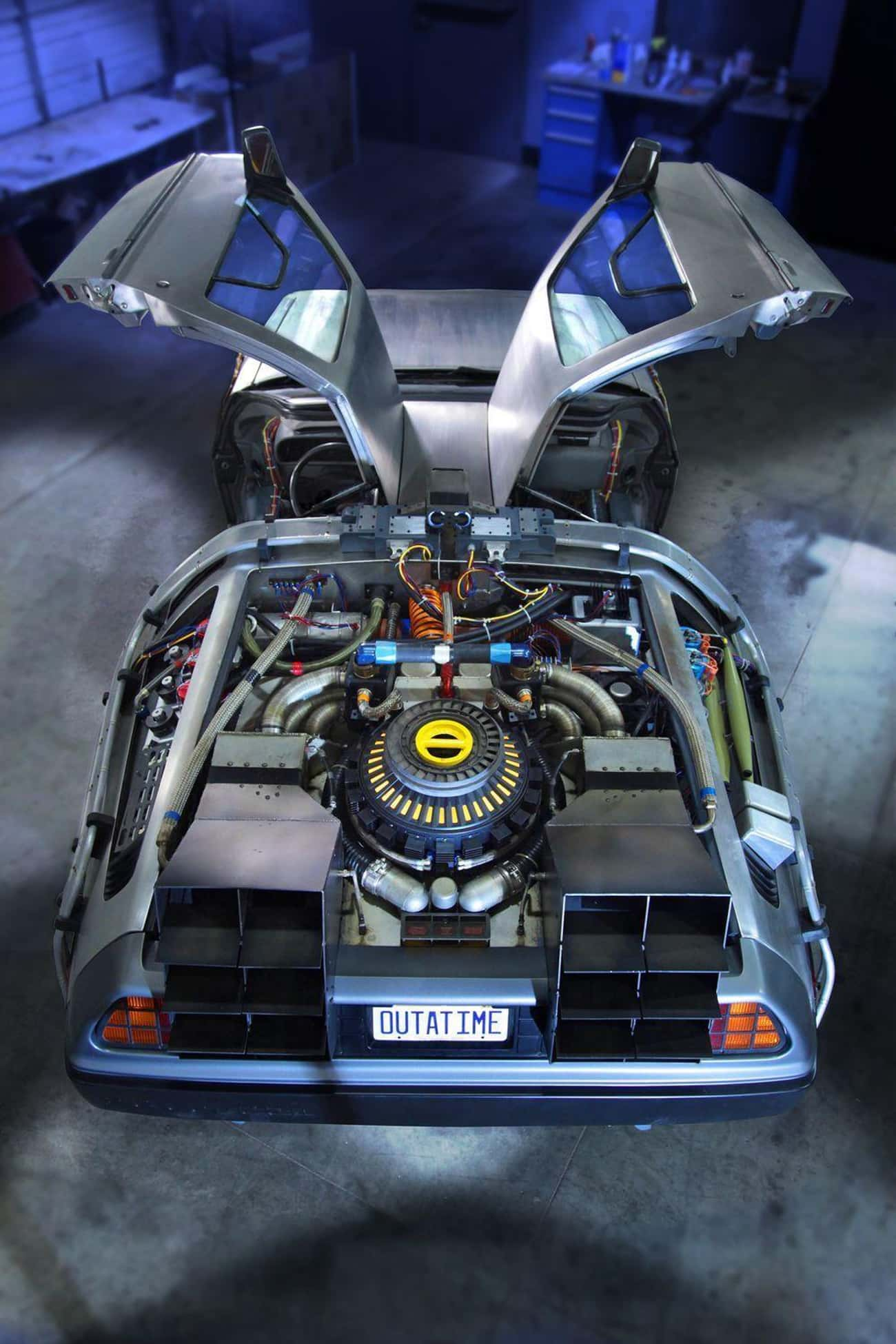 Doc Brown's Delorean is listed (or ranked) 2 on the list The Coolest Fictional Cars