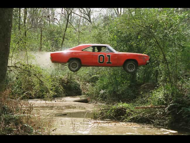 General Lee is listed (or ranked) 4 on the list The Coolest Fictional Cars