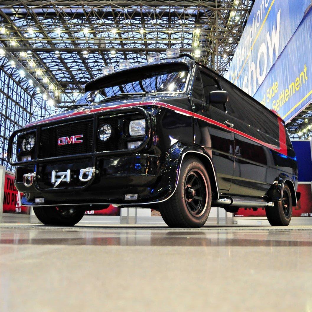 A-Team Van on Random Coolest Fictional Cars