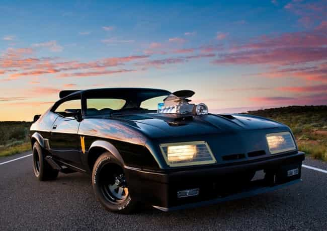 Mad Max's Interceptor is listed (or ranked) 6 on the list The Coolest Fictional Cars
