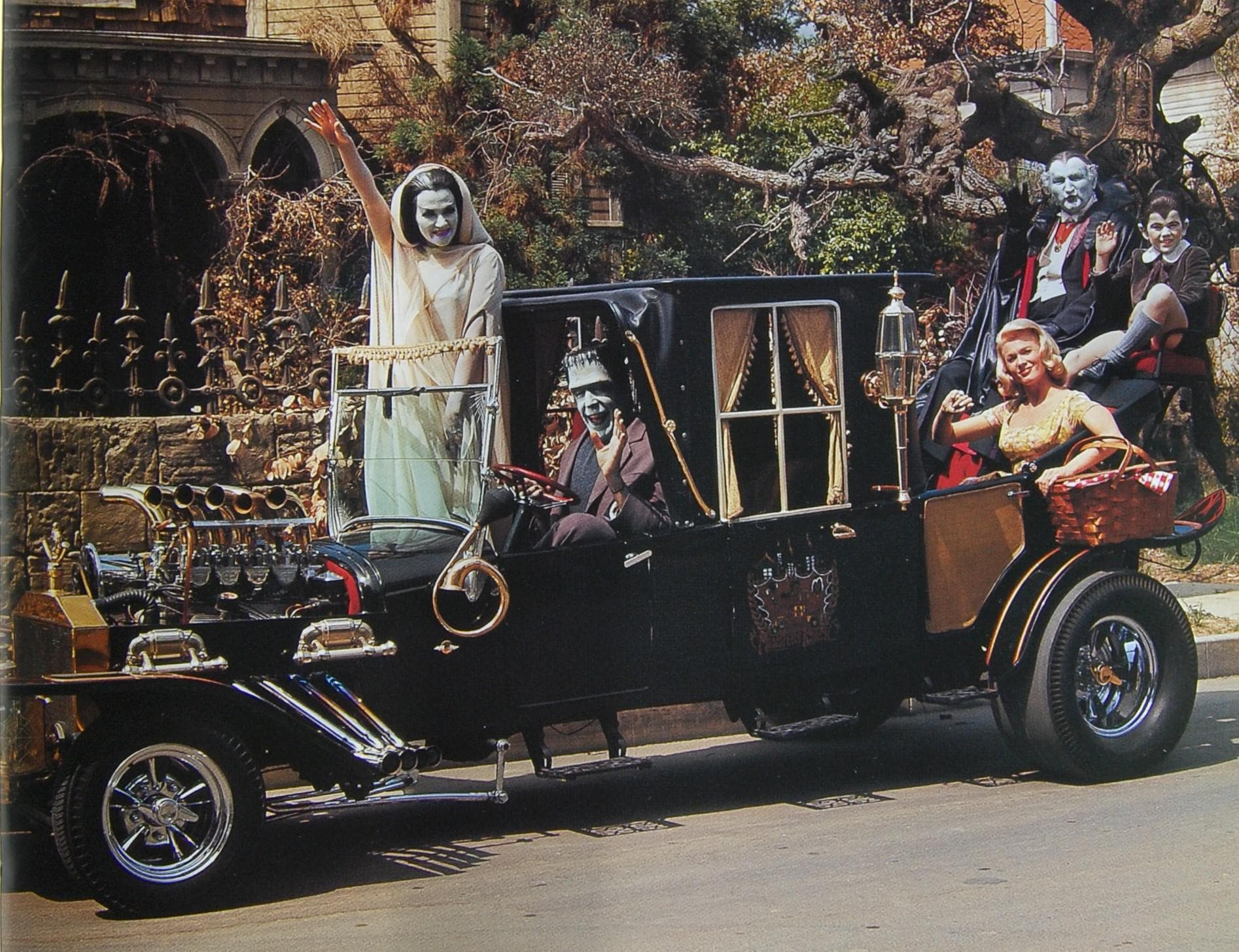 The Munsters' Car on Random Coolest Fictional Cars