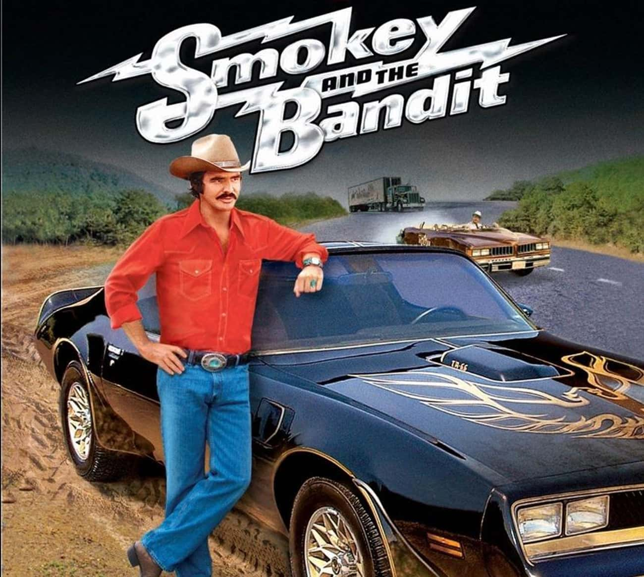 The Bandit is listed (or ranked) 4 on the list The Coolest Fictional Cars