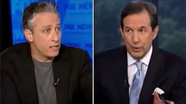 Jon Stewart vs. Fox News Sunda... is listed (or ranked) 1 on the list The Top Clips of Jon Stewart Destroying Fox News