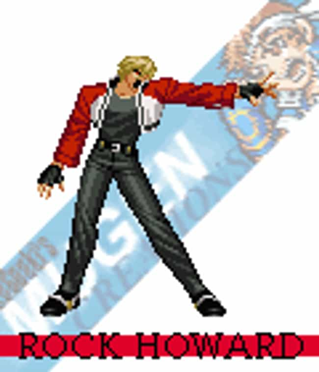 Rock Howard - Garou: Mark of t... is listed (or ranked) 9 on the list The Top 10 Most Ungrateful Kids in Video Games