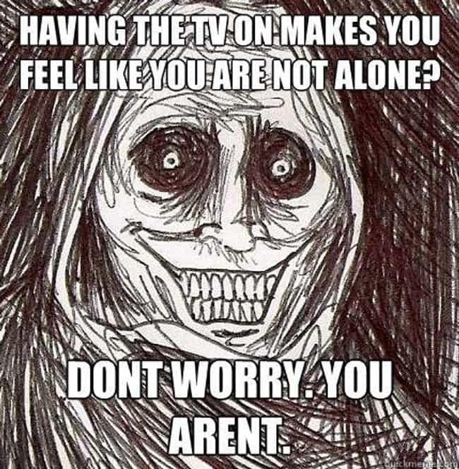 Horrifying Houseguest on TVs is listed (or ranked) 1 on the list The Very Best of the Horrifying Houseguest Meme