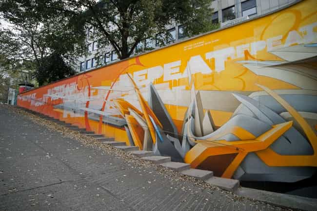 Daim is listed (or ranked) 4 on the list The Best Graffiti Artists