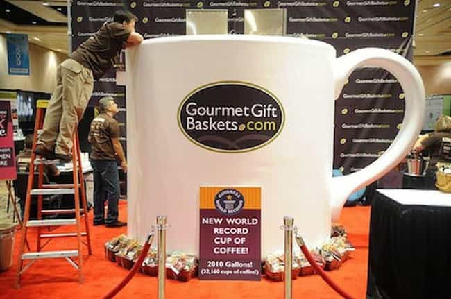 Biggest Cup of Coffee is listed (or ranked) 2 on the list The Biggest Foods in the World