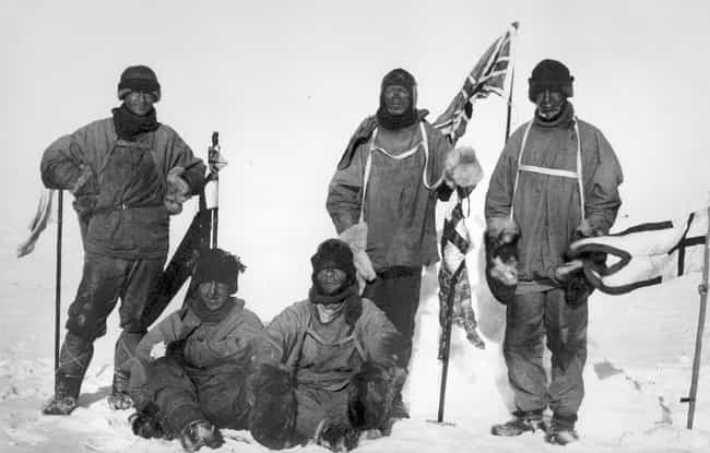 The Terra Nova Expedition is listed (or ranked) 1 on the list 10 of the Most Doomed Expeditions in History