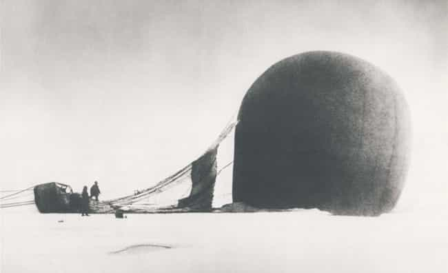 S.A. Andree's Arctic Exped... is listed (or ranked) 3 on the list 10 of the Most Doomed Expeditions in History