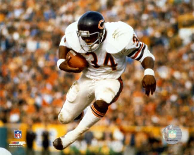 Walter Payton is listed (or ranked) 4 on the list The Top 25 Greatest NFL Players of All Time