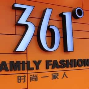 361 Degrees is listed (or ranked) 1 on the list The Top Chinese Manufacturing Companies