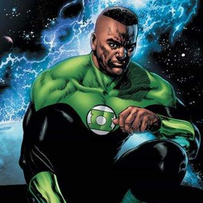 John Stewart: Green Lant... is listed (or ranked) 4 on the list African American Comic Book Heroes Who Replaced White Ones