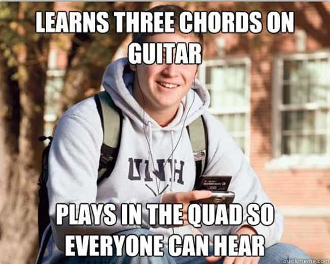 College Freshman Meme Gives Qu... is listed (or ranked) 2 on the list The Very Best of the College Freshman Meme
