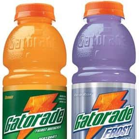 Gatorade is listed (or ranked) 1 on the list The Best Food For A Hangover