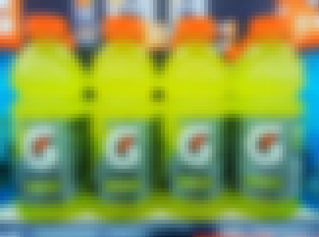 Gatorade is listed (or ranked) 3 on the list 15 Weird but True Stories Behind Unique American Products