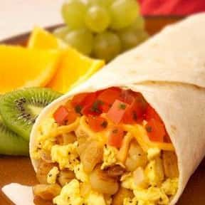 Breakfast Burrito is listed (or ranked) 8 on the list The Best Food For A Hangover
