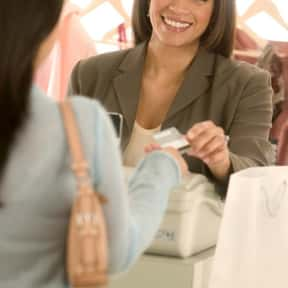 Retail salespersons is listed (or ranked) 1 on the list The Most Common Jobs in America