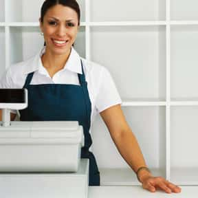Cashiers is listed (or ranked) 2 on the list The Most Common Jobs in America