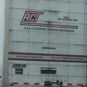 AAA Cooper Transportation is listed (or ranked) 1 on the list Companies Headquartered in Alabama