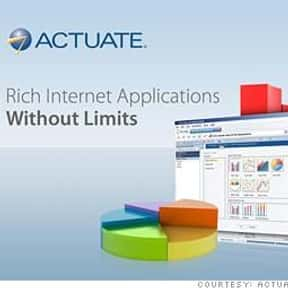 Actuate Corporation is listed (or ranked) 8 on the list Companies Headquartered in California