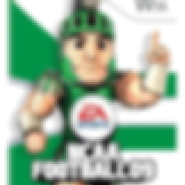 Sparty is listed (or ranked) 10 on the list NCAA Football Cover Athletes