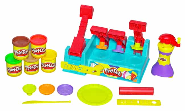 Play-Doh Play Set is listed (or ranked) 3 on the list The Worst Baby Toys (For Parents)